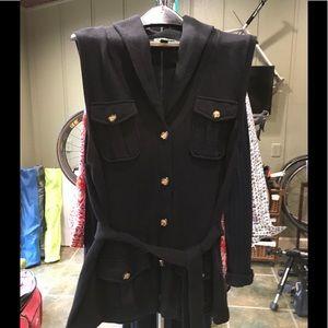 Ralph Lauren Sweater Vest sz XL Black